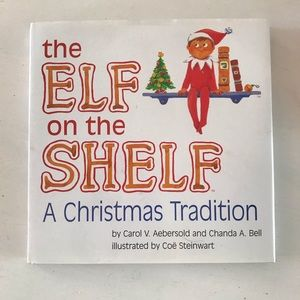 Elf on the shelf two books. One boy and one girl
